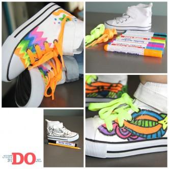 Schoenen versieren