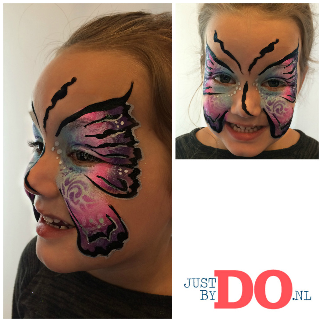 schmink vlinder